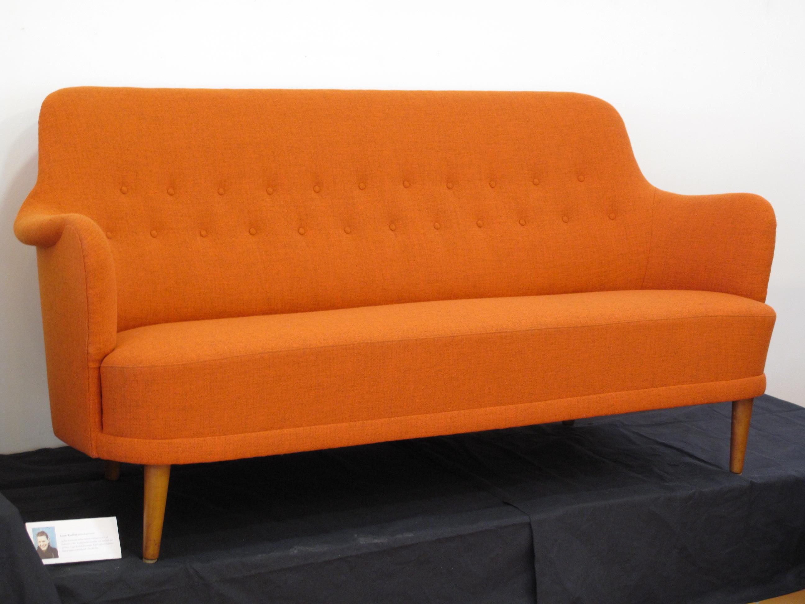 Omklädd Malmstens soffa Samsas