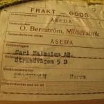 Leverans: Carl Malmsten