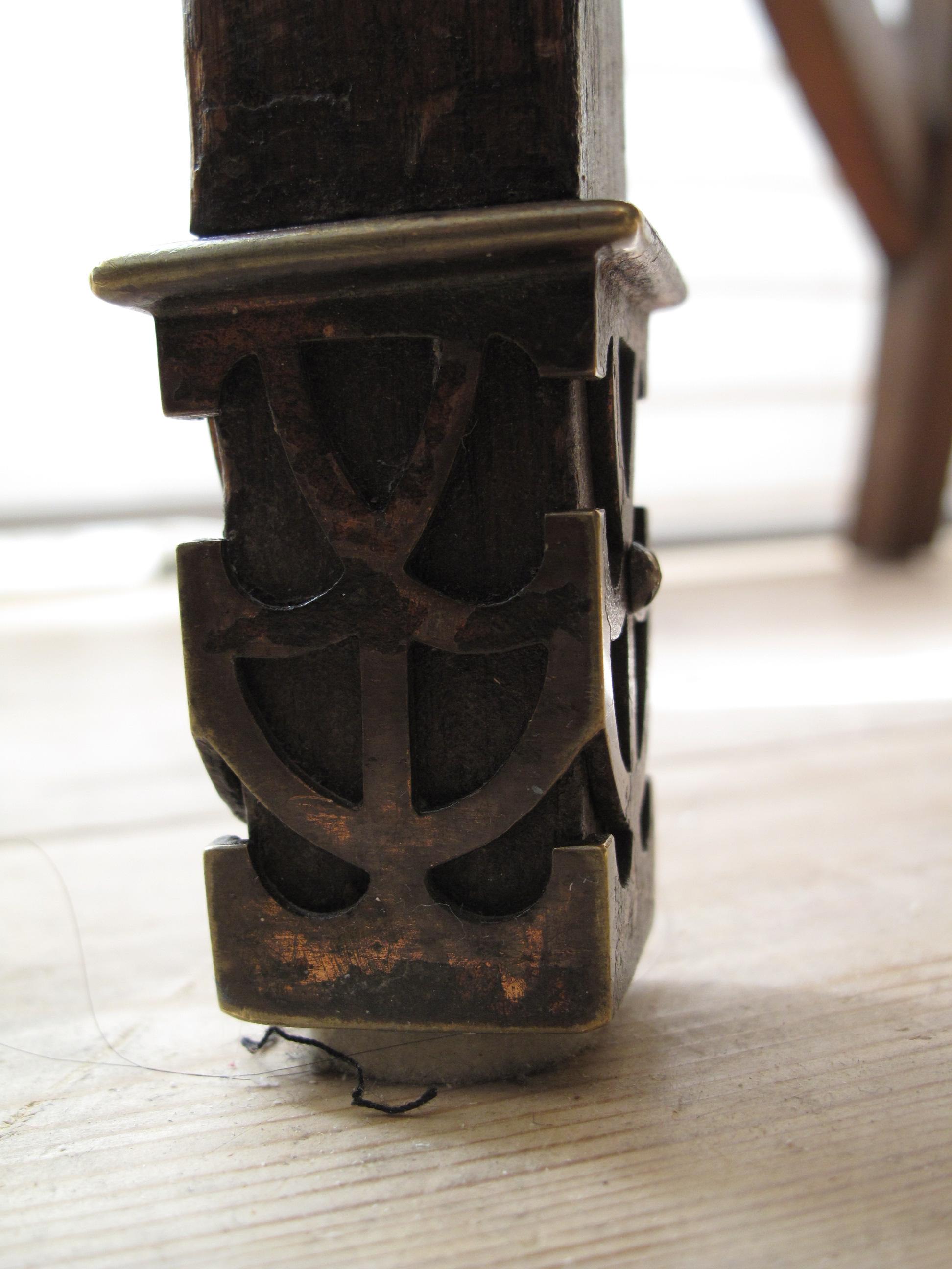 Detaljbild ben