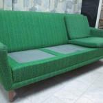 Omklädsel av soffa från DUX