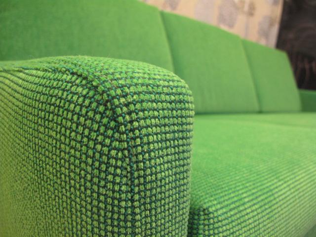 Detalj på DUX-soffa